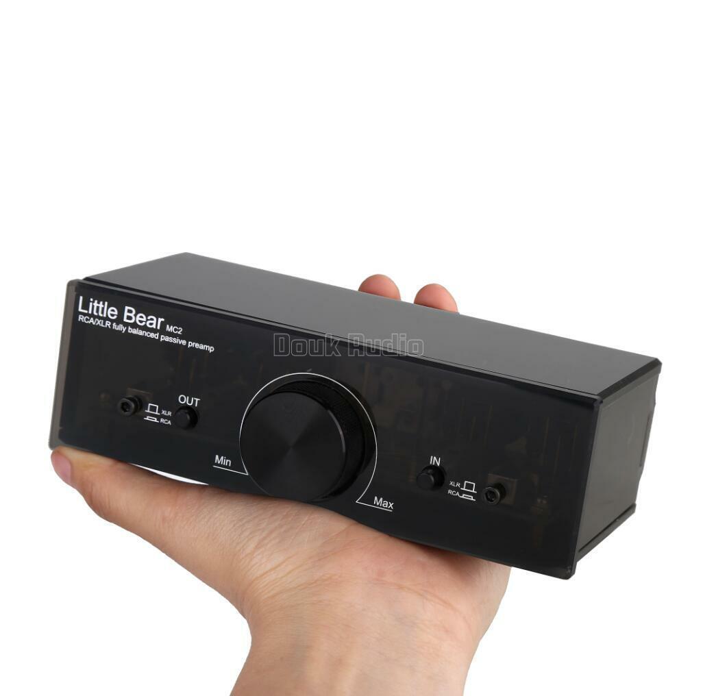Douk Audio Fully Balanced Passive Preamp Pre Amplifier Xlr