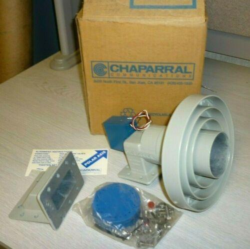 Chaparral Polarotor I E FeedHorn Assy. - C Band W/ Servo Motor - NEW / COMPLETE