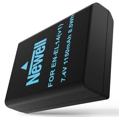 AKKU Li-Ion Batterie Newell EN-EL14 f. Nikon D3100 D3200 D3300 D5100 D5200 D5300