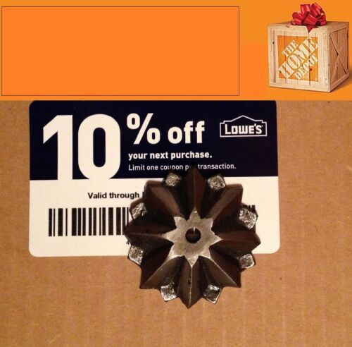 Twenty (20x) Home Depot only 10% Coupons for Exp JANUARY 15, 2022