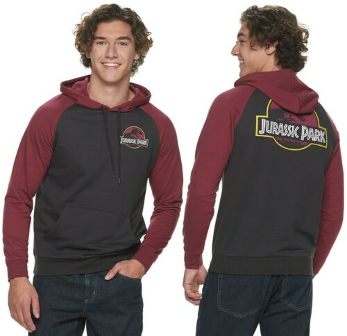 Jurassic Park World Dinosaur Fleece Hoodie Sweatshirt - Men