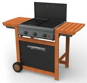Campingaz Adelaide 3 woody gas garden Barbecue BBQ 3000004975