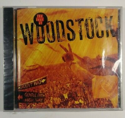 The Best of Woodstock CD '69 Hendrix Santana The Who CSN &Y New Sealed Free