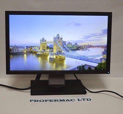 """DELL 19"""" E1909W Widescreen LCD Monitor DVI VGA USB GRADE A + cabels 24H DELIVERY"""