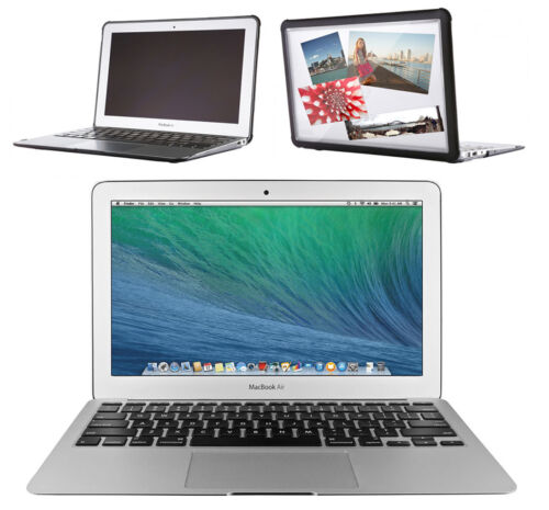 """Apple MacBook Air Core i5 1.4GHz 4GB 128GB SSD 11.6"""" LED Notebook +STM Hardcover"""