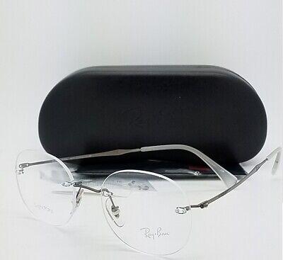 NEW Rayban Rx Eye Glasses Frame Gunmetal RX8747 1000 48mm 8747 AUTHENTIC (New Rayban Glasses)