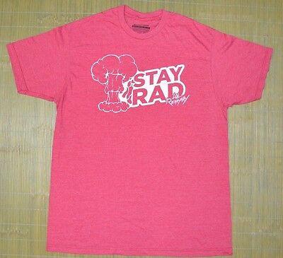 New Mens Design By Humans Artists T Shirt Sz Xl Red Heather Rad Renaynay