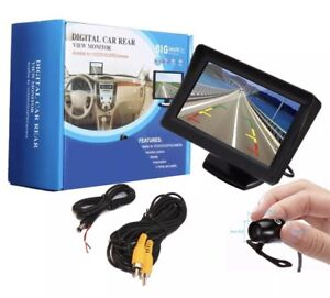 "4.3"" TFT LCD MONITOR AND REVERSE CAMERA  KIT NIGHT VISION BRAND NEW Hallam Casey Area Preview"