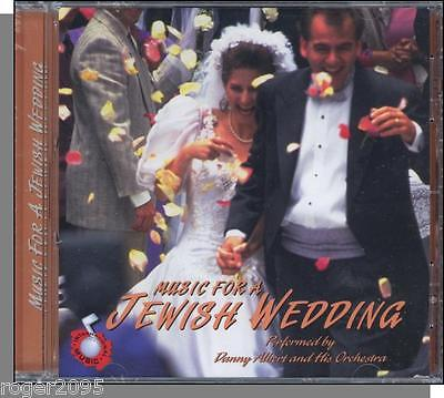 Danny Albert Orchestra - Music For a Jewish Wedding - New 1997 CD!
