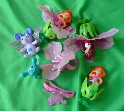 Flower Pixie Fairy Figures Collection Character Toys from Kinder Surprise LOT