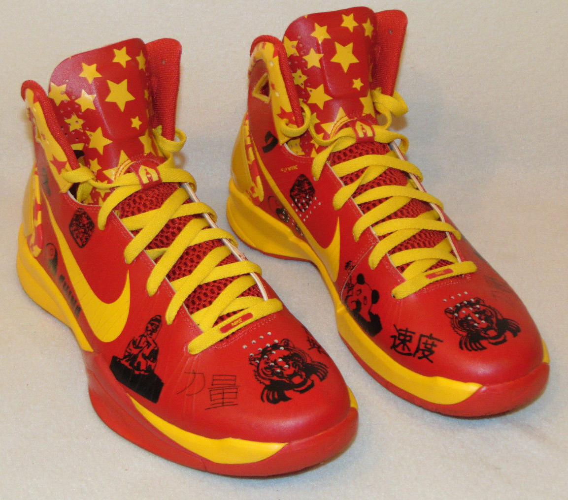 STUNNING NIKE FLYWIRE 'BROOKLYN FOR CHINA' RED DEA