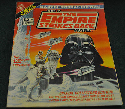 MARVEL SPECIAL EDITION #2 THE EMPIRE STRIKES BACK (6.5) 1ST APP. OF BOBA