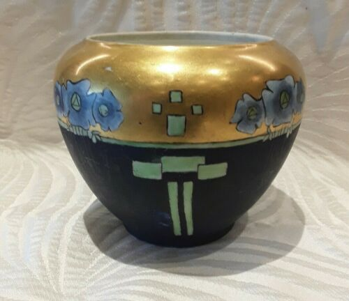 Art Deco Porcelain GDA Vase France c. 1930