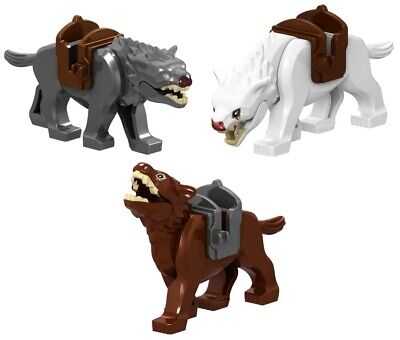 Lord of the Rings Warg Wolve Orc Wolf Hobbit Custom Lego Mini Figure Toy Hyena