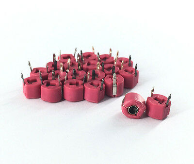 Variable Ceramic 6mm Trimmer Capacitor 40pf Qty20 Mms