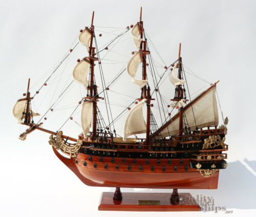 Soleil Royal Handcrafted Ship Model Ready for Display