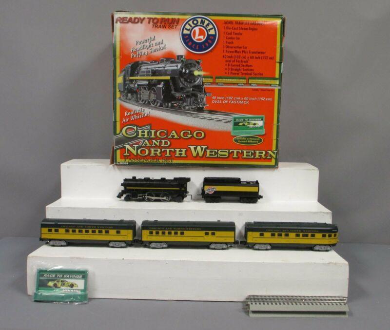 Lionel 6-30094 Chicago & North Western O Gauge Steam Train Set/Box