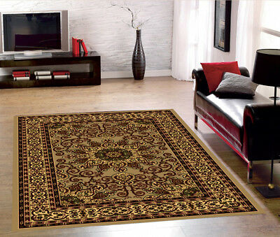 Rugs Area Medallion Persian Style Area Rugs 5x7 and 8x10 Carpets Floor Decor 307 - Rugs And Carpets