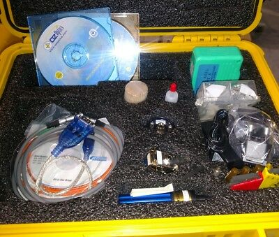 Fiber 320x Microscope With Lots Of Accessories And Very Nice Pelican Case Q11