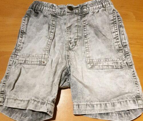 Kleinkind JUNGE Jeansshorts kurze Hose GRÖßE 104 Zara grau knielang