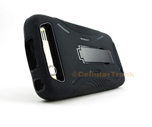for Motorola Atrix HD MB886 +Pry Tool Heavy Duty Dual Layer Hybrid Case Cover