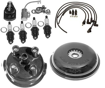 Complete Tune Up Kit For Ford 8n Tractor W Side Mount Distributor Sn 263844up