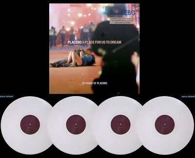 PLACEBO A Place For Us To Dream 4xLP on PINK VINYL New
