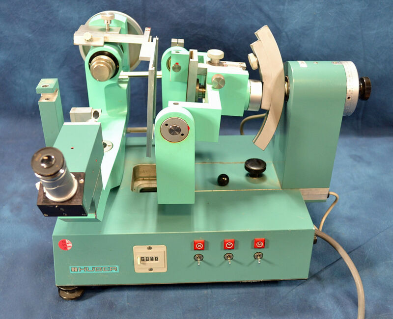 Huber Buerger x-ray precession camera Goniometer 205/206 Diffraction Reflexion