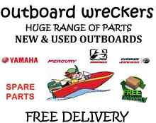Outboard motor wreckers yamaha evinrude johnson mariner mercury Melbourne CBD Melbourne City Preview