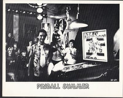 Unknown Actor And Actress Pinball Summer 1980 Pick-up Summer Movie Photo 42599 - $6.99