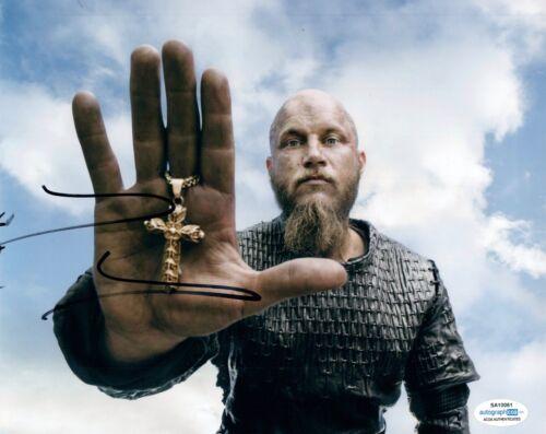 Travis Fimmel Signed Autographed 8x10 Photo Vikings Warcraft ACOA COA