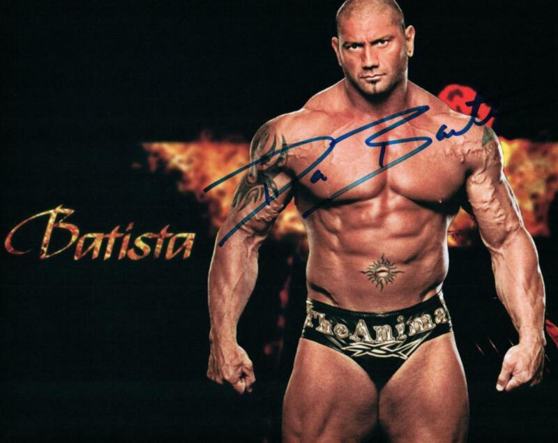 Dave Bautista signed 8x10 Photo with COA autographed Picture very nice