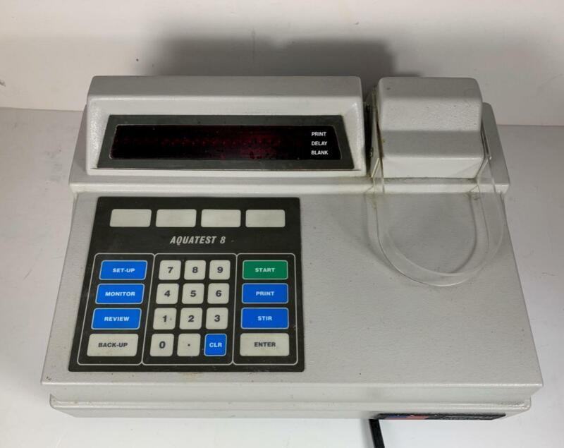 Photovolt Model 128 Aquatest 8 Coulometric Titrator 120V 50/60 Hz
