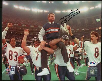 Mike Ditka 8x10 Auto Autograph Chicago Bears Super Bowl XX PSA/DNA Authentic