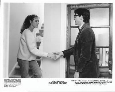 """Virginia Madsen & Lenny Von Dohlen """"Electric Dreams""""  Vintage Movie Still"""