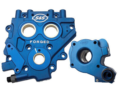 S&S Cycle TC3 Cam Support Plate and Oil Pump for Harley Twin Cam 2007-17