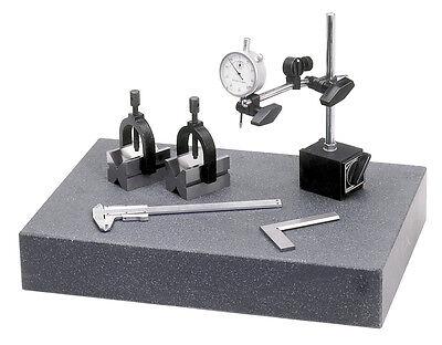 WABECO Granit Messplatte Prüfplatte Tuschierplatte 450x450x75 Messtisch