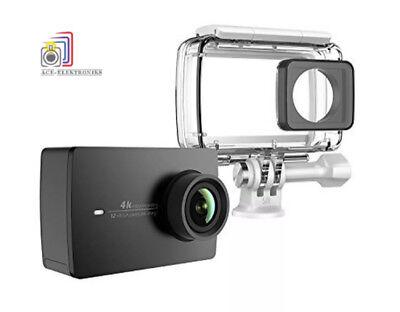 YI 4K BK + WP Sports Action and 4K/30fps WiFi Camera - Black *New & Sealed*