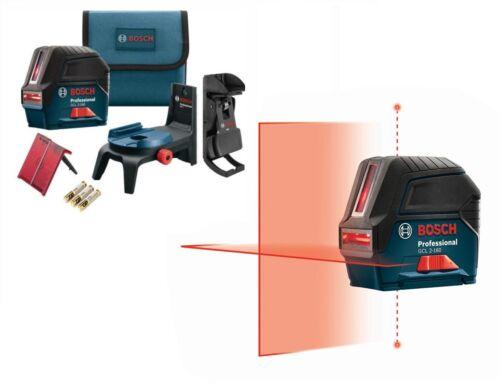Bosch GCL 2-160 S Self-Leveling Cross-Line Laser w/ Plumb Points GCL-2-160-S-RT