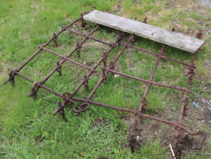 Combined HARROWS to keep your horse ring in good shape