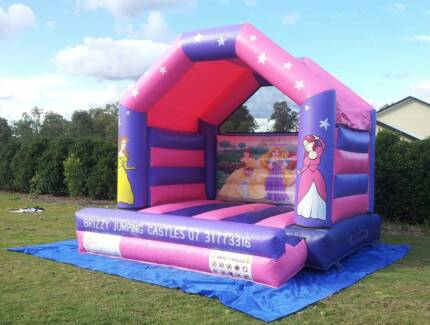 Princess 4mtr x 4mtr Jumping Castle for Hire Brisbane Brisbane City Brisbane North West Preview