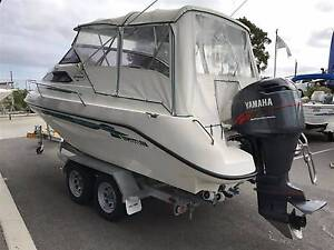 WHITTLEY 580 VOYAGER POWERED BY A YAMAHA 150 HP HPDI Wangara Wanneroo Area Preview