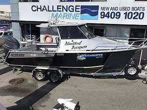 SURTESS 7.3 SPORT FISHER 2013 250 HP 4 STROKE 104 HOURS Wangara Wanneroo Area Preview