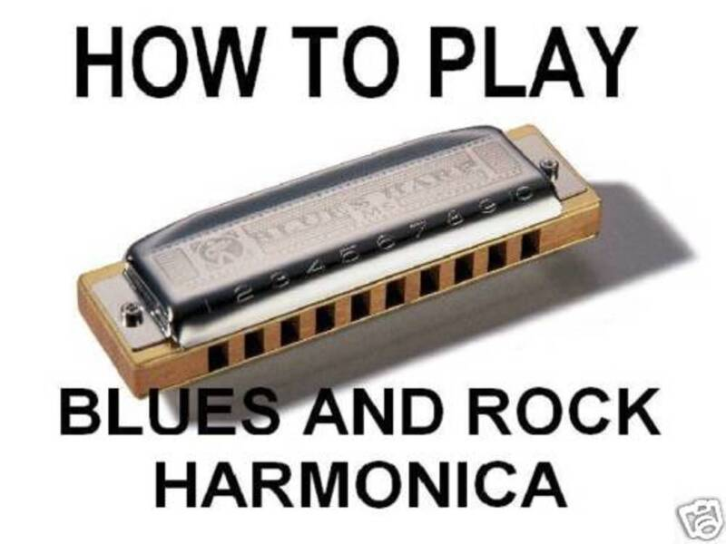 How To Play Blues & Rock Harmonica DVD Play REAL Harp! Learn In A SINGLE DAY!