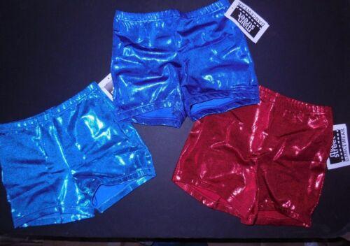 NWT FOIL Booty Shorts JAZZ DANCE High Waist $17 retail girls/ladies 10 colors