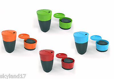 LIGHT MY FIRE PACK-UP-CUP **4 PACK** FOUR ELEMENT COLOURS