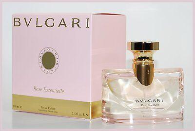 BVLGARI ROSE ESSENTIELLE Eau De Parfum Spray 100ml * BRAND NEW, BOXED & SEALED * ()