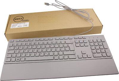 Dell Usb-tastatur (Dell deutsche Tastatur KB216 grau mit USB Anschluss QWERTZ mit Handauflage NEU)