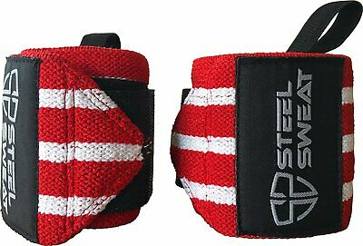 Wrist Wraps - Best for Weight Lifting, Powerlifting, Gym and Crossfit