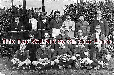 ST 26 - Carters Green Football Club, 1916-17, West Bromwich, Staffordshire